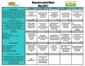 6 best images of printable sample day care menu food With child care menu template