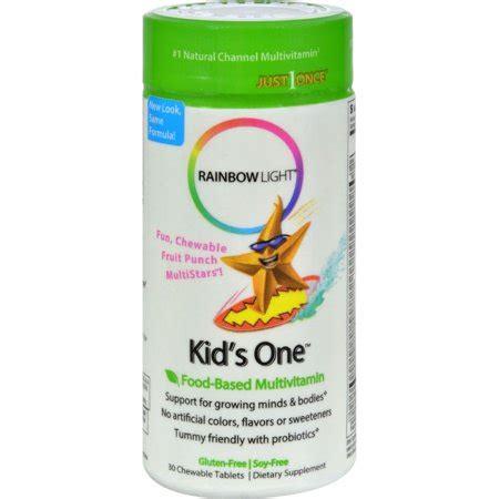 rainbow light vitamins rainbow light one chewable multivitamin mineral 30