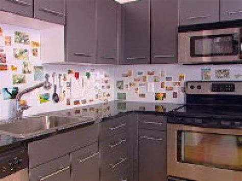 hgtv kitchen backsplashes how to creating a magnetic backsplash hgtv 1617
