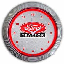 Ford Tractor Neon Clock NC 20 71