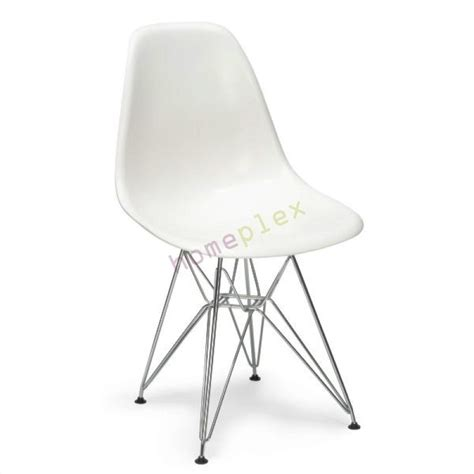 chaise eiffel set of replica eames dsr eiffel dining chair in