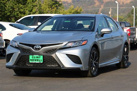 New 2018 Toyota Camry Se 4dr Car In Roseburg #t18030