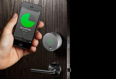 august door lock yves behar s august smart lock keyless entry for anyone