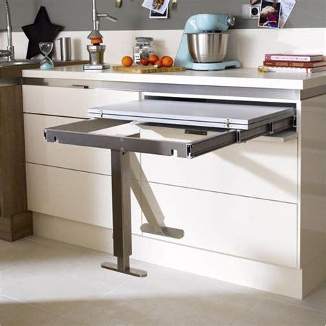 table de cuisine retractable comment mieux vivre la cuisine viving