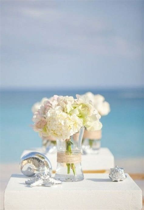 beach wedding flower centerpieces oosile