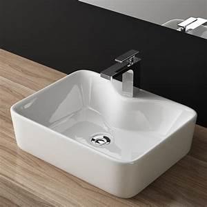 Tisch Für Aufsatzwaschbecken : design keramik aufsatzwaschbecken tisch handwaschbecken bad g ste wc top a98 ebay ~ Markanthonyermac.com Haus und Dekorationen