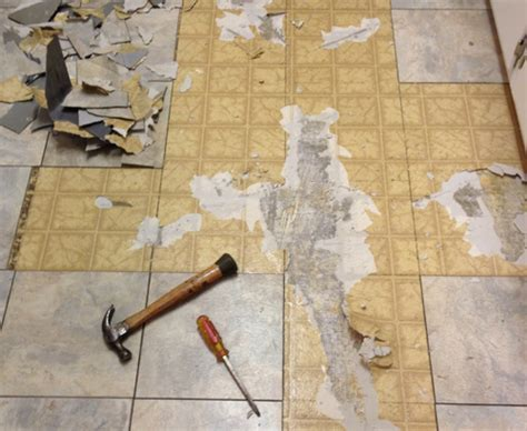 How To Remove Old Vinyl Tile From Concrete Floor   Tile