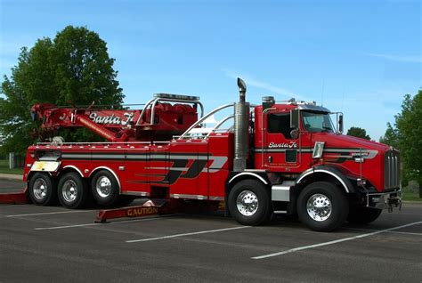 big kenworth trucks kenworth big rig tow truck photograph by tim mccullough