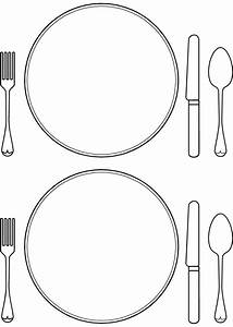 Table Place Setting Clipart | ClipArtHut - Free Clipart