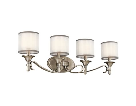 4 Bulb Bathroom Light Fixtures by Collection 4 Light Bath Fixture In Antique Pewter