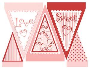 Day Valentine's Banner Printable