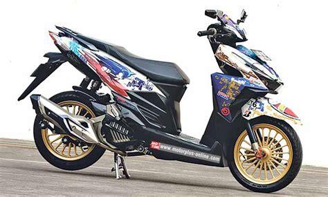 Modif Honda Vario 150 by 50 Gambar Modifikasi Honda Vario 150 Esp Terbaru Modif Drag