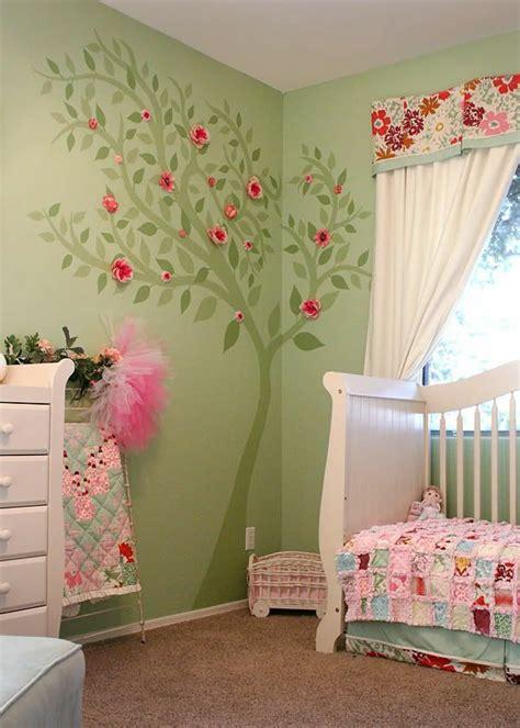 chambre pour bebe fille deco chambre bebe fille et vert