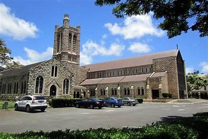 Andrew Cathedral Saint Church Honolulu Cbd Ahu