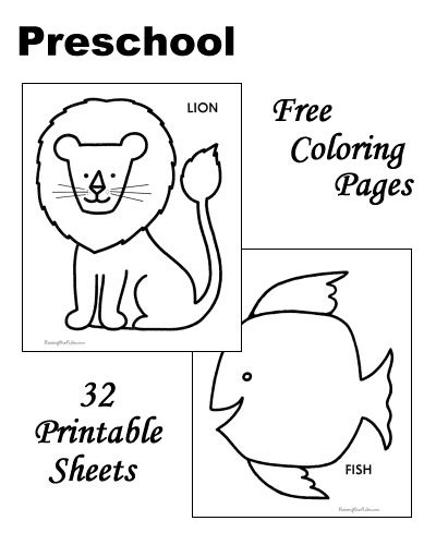 coloring pages printable homework sheets for preschool