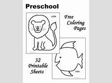 Coloring Pages Preschool Pages Dog Coloring Pages About