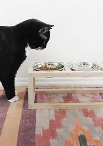 Jouets Pour Chats D Appartement : un petit coin repas pour chat diy animaux ~ Melissatoandfro.com Idées de Décoration