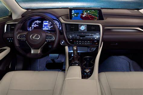 lexus rx   interior cars news