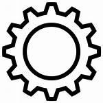 Gear Icon Engine Innovation Process Setting Svg