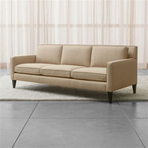 And Barrel Apartment Sofa by Rochelle Apartment Size Sofa Crate And Barrel