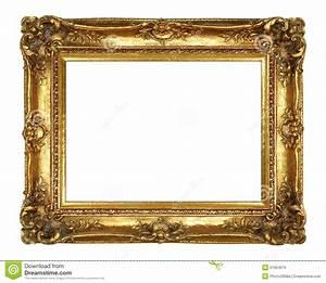 Cadre De Tableau : cadre de tableau d 39 or image stock image du m tallique ~ Dode.kayakingforconservation.com Idées de Décoration