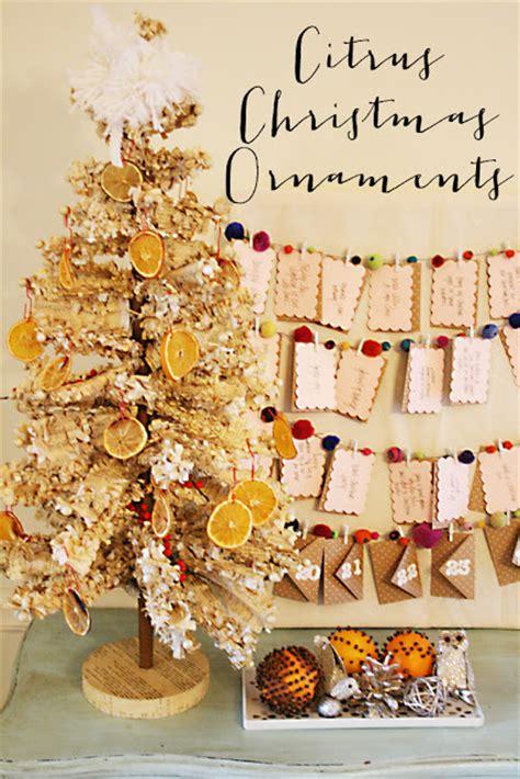citrus christmas ornaments darling darleen  lifestyle