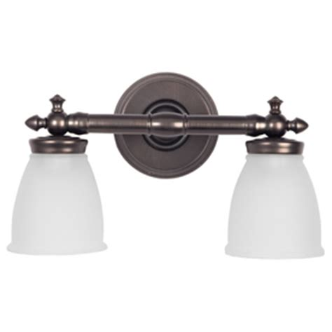 Delta Bathroom Fixtures by Shop Delta 2 Light Bronze Bathroom Vanity Light At Lowes
