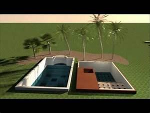 Escalier Sweet Home 3d : sweet home 3d pool youtube ~ Premium-room.com Idées de Décoration