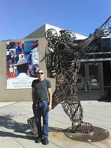 Steel wire statue - Yelp