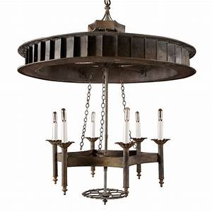 Industrial chandelier at stdibs