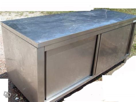 meuble inox cuisine pro armoire inox cuisine occasion table de lit