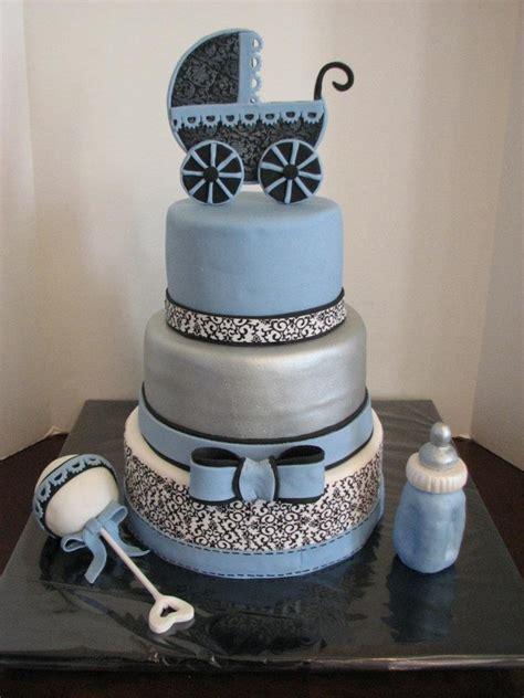 elegant babyshower cakecentralcom