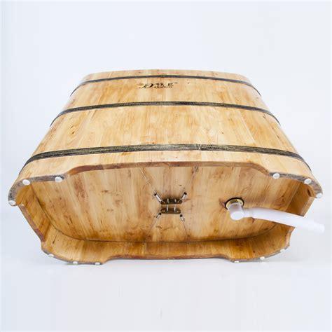 siege japonais tonneau en bois portable baignoire avec siège japonais