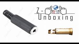 Unboxing 3 5mm Female Connector For Audio Cable