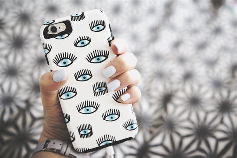uk style and fashion eye phone cover