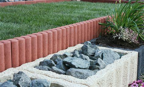 Randsteine Garten Ideen palisaden randsteine christoph betonwaren