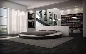 Lit Rond But : un lit rond avec des formes harmonieuses d coration maison ~ Teatrodelosmanantiales.com Idées de Décoration