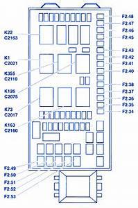 Ford F550 2004 Fuse Box  Block Circuit Breaker Diagram