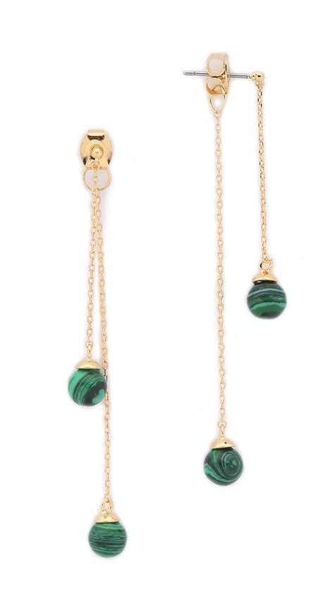 Noir Jewelry Sphere Drop Earrings In Metallic  Lyst. Vvs Necklace. Vintage Alhambra Earrings. Rings Emerald. Custom Rubber Bands. Black Diamond Bands. Designer Gold Lockets. Digital Watches. Girlfriend Rings