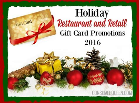 xmas gift card promotion consumer s gift card promotions up 2016