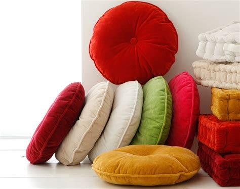 coussin pour chaise ronde coussin rond