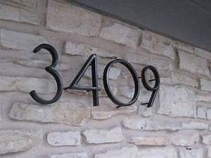 house numbers black home ideas With exterior address numbers and letters