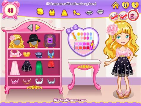 Girls Go Fashion Party Game  Games For Girls Box