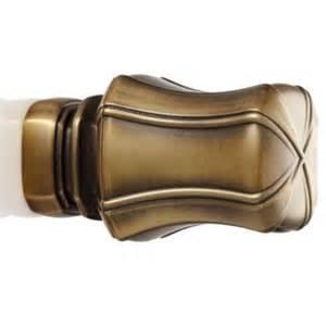 kirsch designer metals aspen finial drapery rods direct