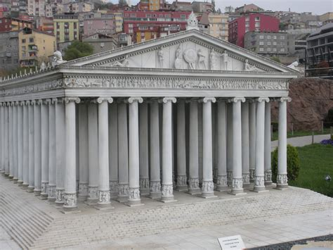Model Of Temple Of Artemis Ephesus Miniaturk Stlce I