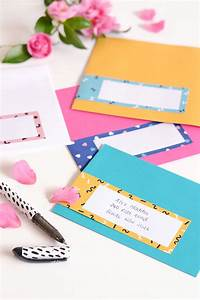 friday faves 270516 make and tell With labels for letter envelopes