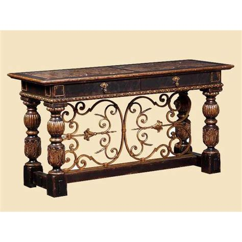 marge carson sofa table marge carson sev06 seville console discount furniture at