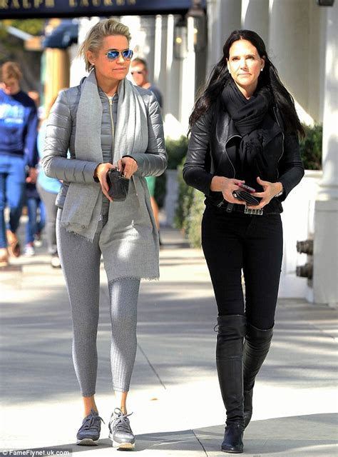 Yolanda Foster seen after claims ex Mohamed Hadid says