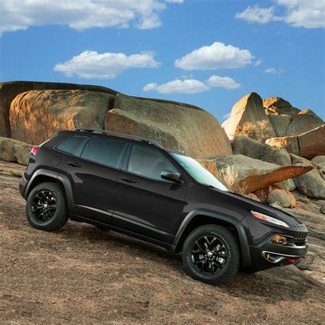 jeep cherokee trailhawk black rims 2014 jeep cherokee trailhawk black on black with a 3 4