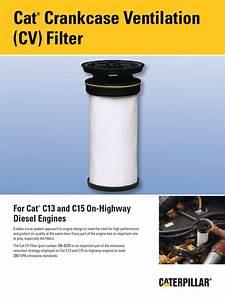 Open Crankcase Vent Filter D Sheet